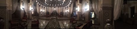 hotel royal mansour evening