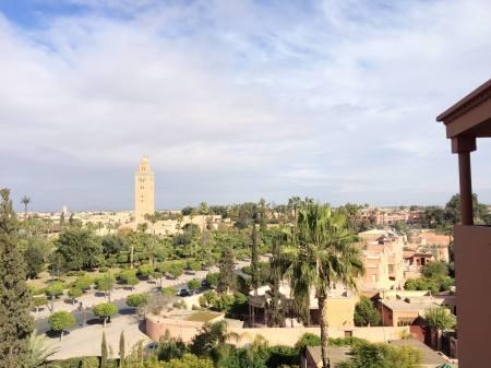 medina view from la mamounia