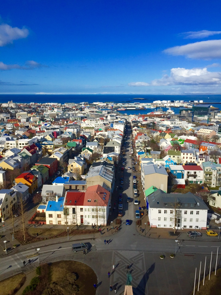 Reykjavikfromchurchtower